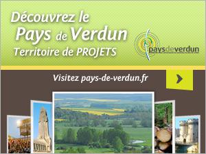 Bannière lien vers le site du Pays de Verdun